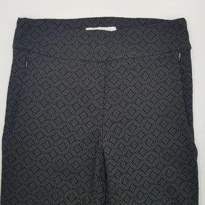 Margaret M Pants & Jumpsuits - Margaret M Black Textured Ankle Skinny Pants